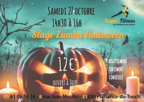 halloween stage zumba fitness plaisance-du-touch sport